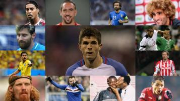 100 Footballers in the world.