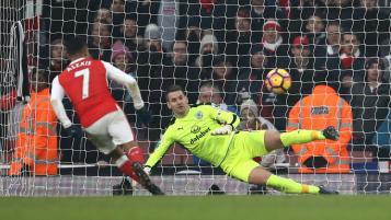 Alexis Sanchez penalty