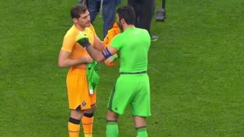 Buffon and Casillas