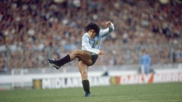 Diego Maradona in 1980