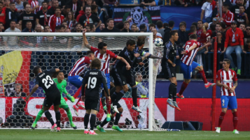 Atletico Madrid goals vs Real Madrid