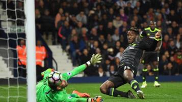 Michy Batshuayi Goal to win Chelsea Premier League title