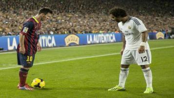 Lionel Messi vs. Marcelo