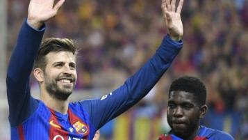 Pique is working towards his MBA at Harvard Business School