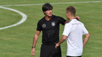 Joachim Low and Joshua Kimmich