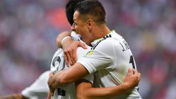 Javier Hernandez and Hirving Lozano