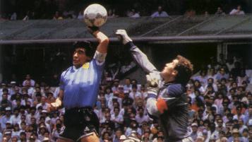 Diego Maradona supports VAR.