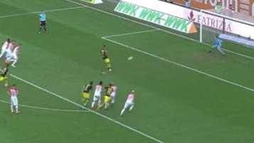 Aubameyang penalty miss