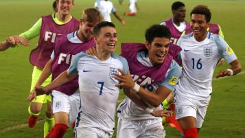 England youth teams