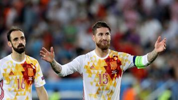 Spain World Cup Ban