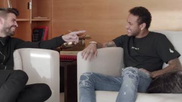 Pique Neymar interview
