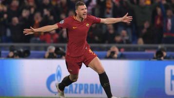 Roma Champions League quarterfinals