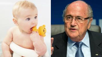 Sepp Blatter Tweet