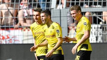 Christian Pulisic Borussia Dortmund assist