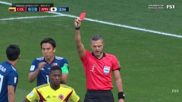Carlos Sanchez Red Card
