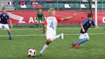 Kids World Cup Final Reenactment