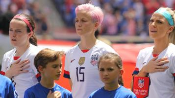 Megan Rapinoe Anthem Protests