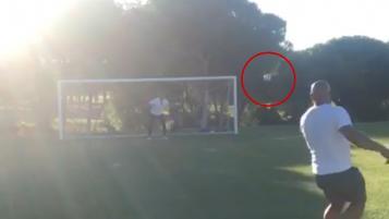 Roberto Carlos Free Kick
