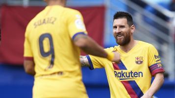Barcelona vs Eibar Highlights