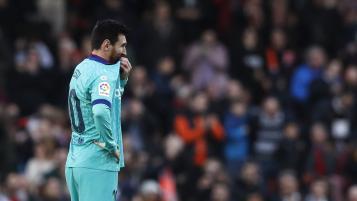 Valencia vs Barcelona Highlights January 2020