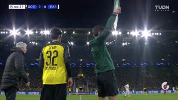 Gio Reyna Champions League Assist