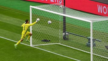 Patrik Schick Goal vs Scotland