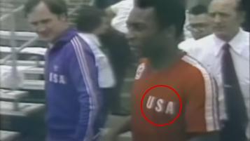 Pelé Played For US At Bicentennial Cup 1976
