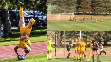 Wyoming Flip Throw Goal