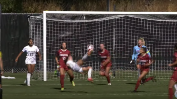 CU Bicycle Kick Goal vs. Stanford
