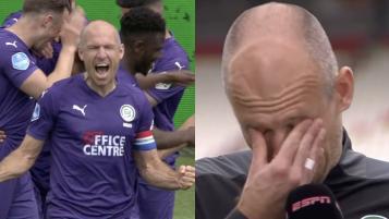 Arjen Robben injury return