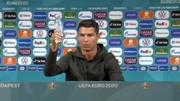 Cristiano Ronaldo Coca Cola Euro Moment