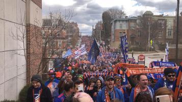 FC Cincinnati march