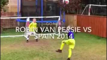 boys recreate best goals