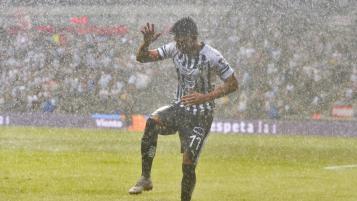 Jesus Gallardo rain goal