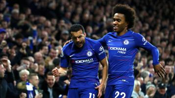 Pedro and Willian leave Chelsea