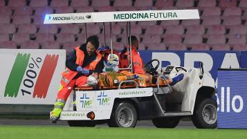 David Ospina head injury