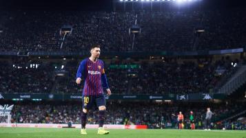 Lionel Messi hat trick vs Real Betis