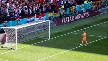 Spain Own Goal Vs Croatia