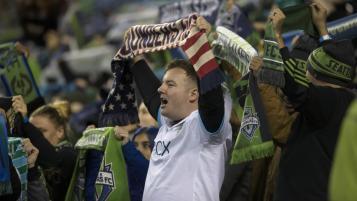 Seattle Sounders fan protest
