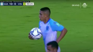 Goles Guatemala vs San Vicente y las Granadinas