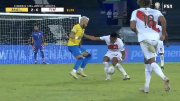 Neymar Skill Moves Vs Peru