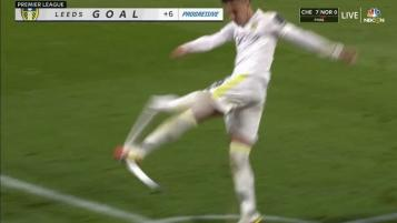 Rodrigo Kicks Corner Flag