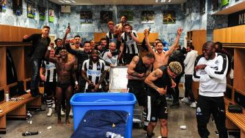 Newcastle United promotion