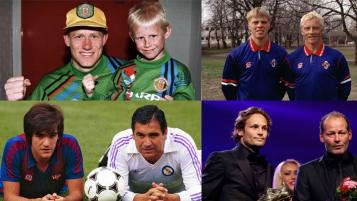 Famous football sons