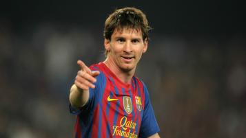 Messi Photos - In action during the Spanish league match against Athletic Club Bilbao