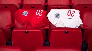 2018 England World Cup Kit