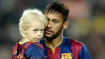 Footballer Family Photos: Neymar and son Davi