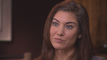 Hope Solo 60 minutes interview