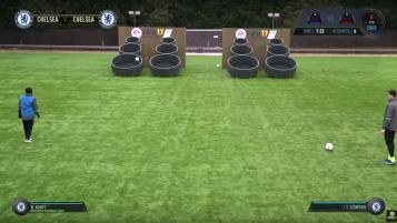 Chelsea F.C Players Skills Challenge
