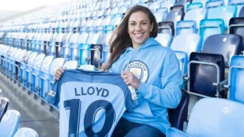 Carli Lloyd Interview Manchester City
